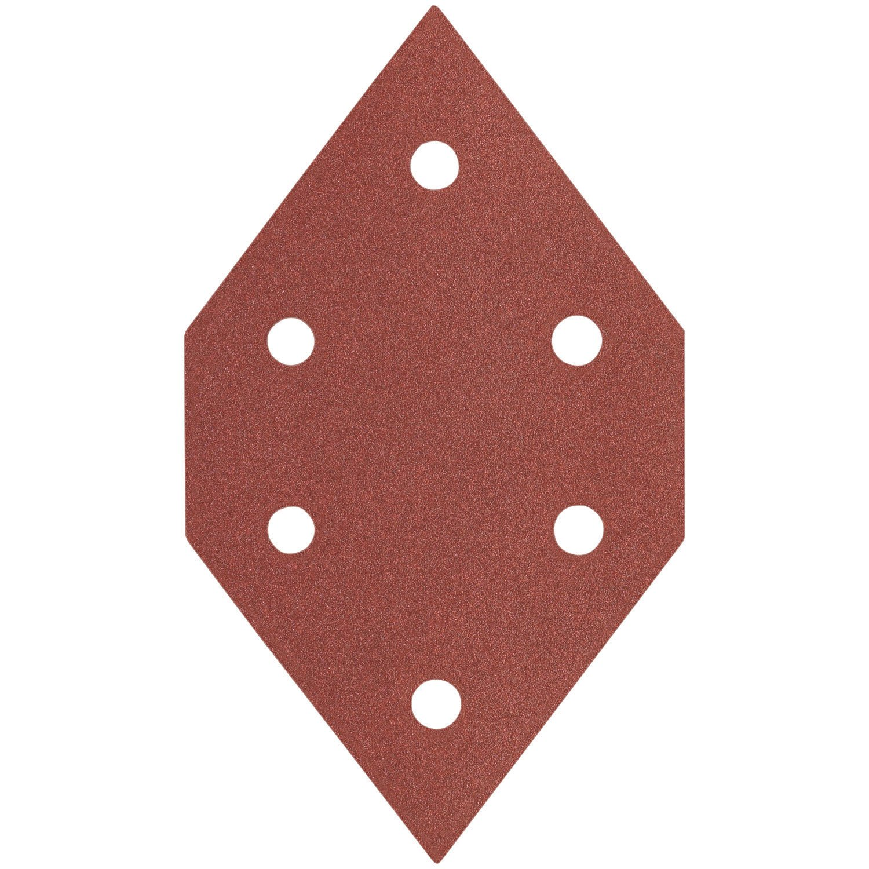 PORTER-CABLE 767601505 150 Grit Diamond-Shaped Hook & Loop Profile Sanding Sheets (5-Pack)