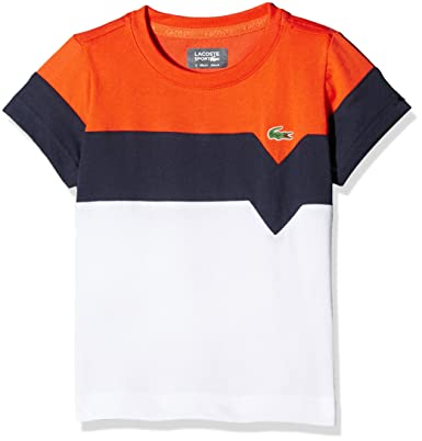 Sport Lacoste Anstaille Tj8818 T ShirtBlancmarine Mexico6 b76fgyvY