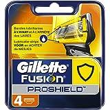 Gillette - Fusion ProShield - Lames de Rasoir Pour Homme - 4 Recharges