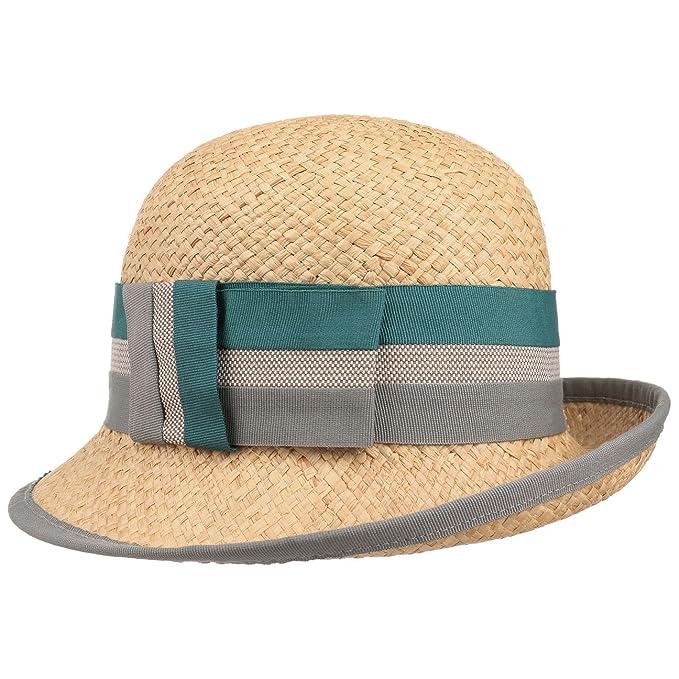 Sombrero de Paja Rafia Balisa by bedacht sombrero de veranosombrero cloche  (talla única - natural ac26f687886