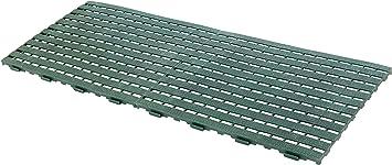 UPP® alfombra de jardín I camino para huerta y jardín I rejilla antideslizante para jardín, balcón, piscina o cualquier superficie (2 placas): Amazon.es: Bricolaje y herramientas