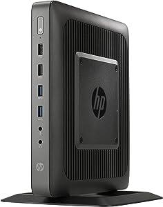 HP T620 Flexible Thin, Windows, AMD:GX-217GA/GX2, 1.65 GHz, AMD-RADEONHD8280E, 16 GB, Black