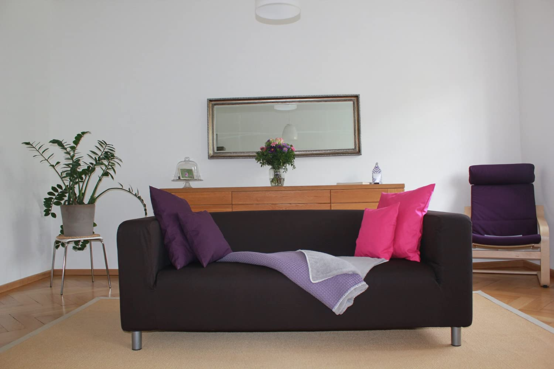 Buntaneo bezug passend für ikea klippan 2er sofa, coffee bean ...