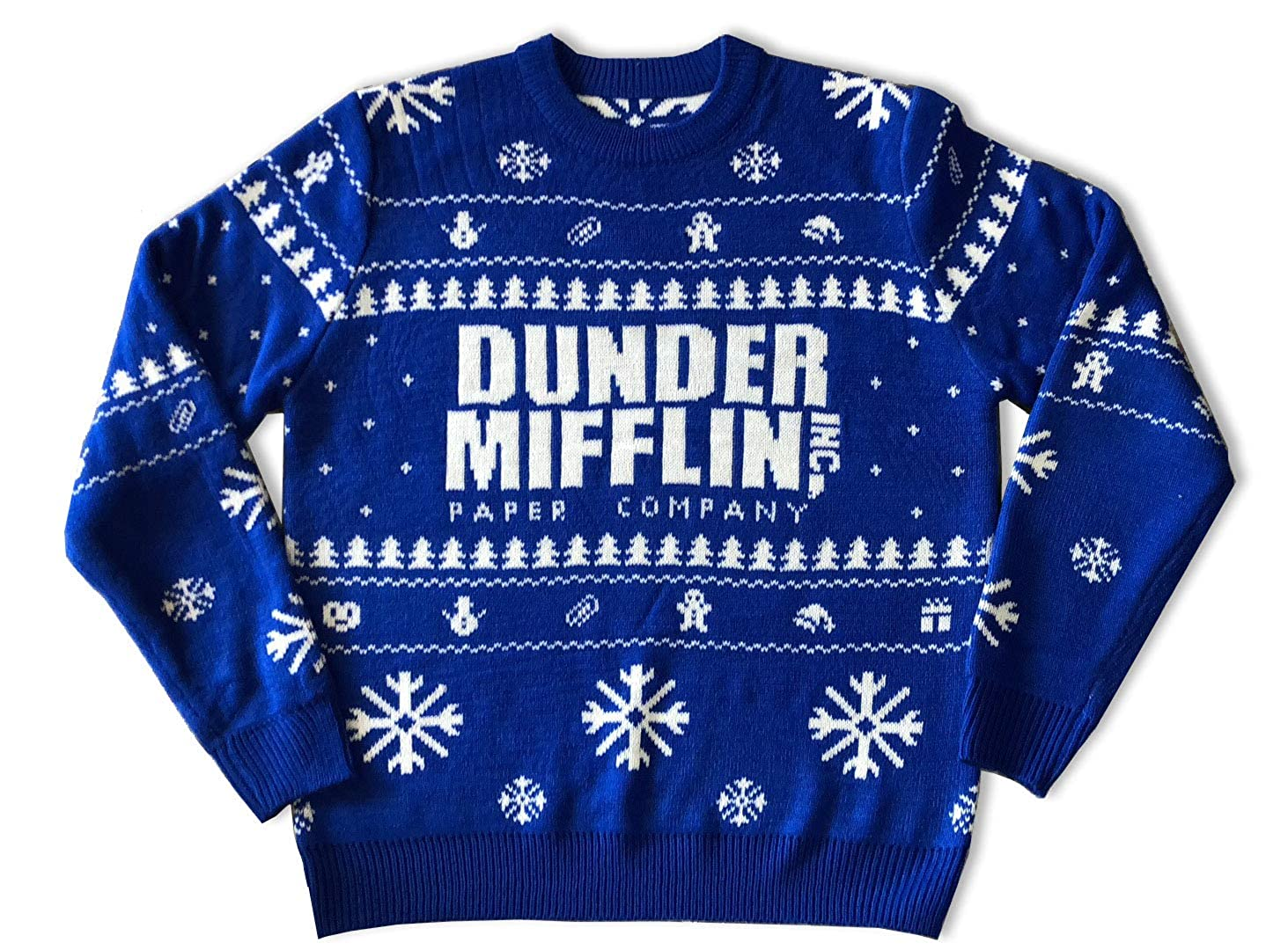 The Office Christmas Sweater.Amazon Com Nbc The Office Dunder Mifflin Ugly Christmas