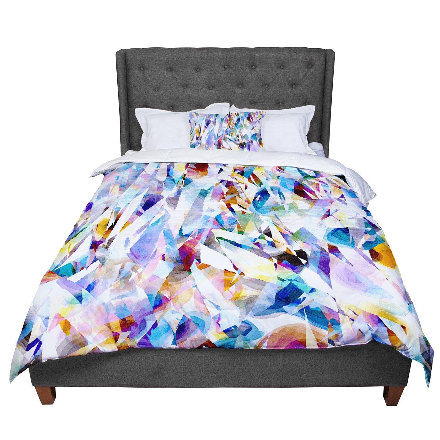 KESS InHouse Gabriela Fuente \'Buzz\' Queen Comforter, 88\' X 88\'