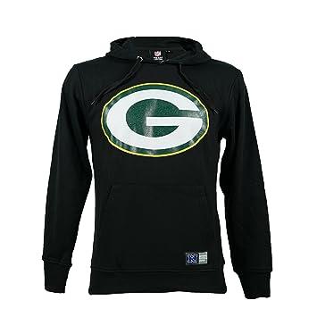 Sudadera con capucha, diseño oficial original del equipo de fútbol americano Green Bay Packers: Amazon.es: Deportes y aire libre