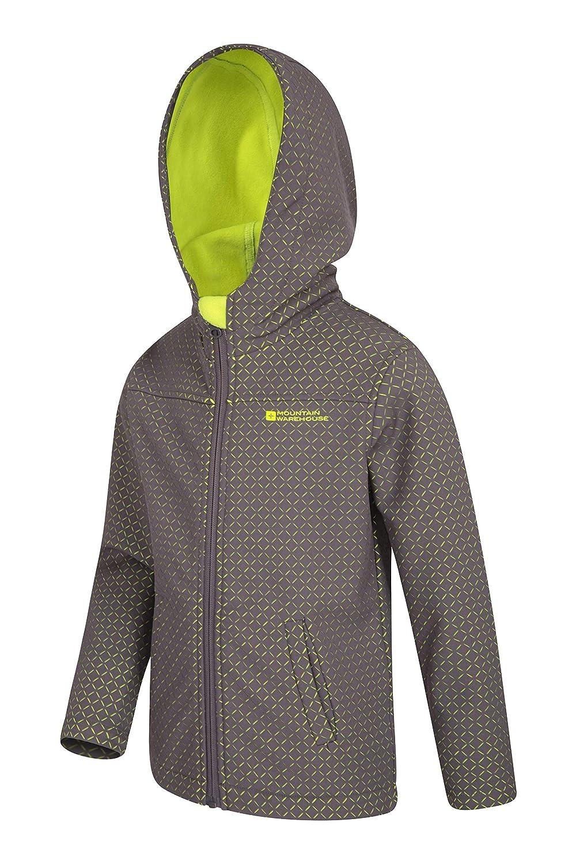 Water Resistant Jacket Mountain Warehouse Kids Laser Cut Softshell