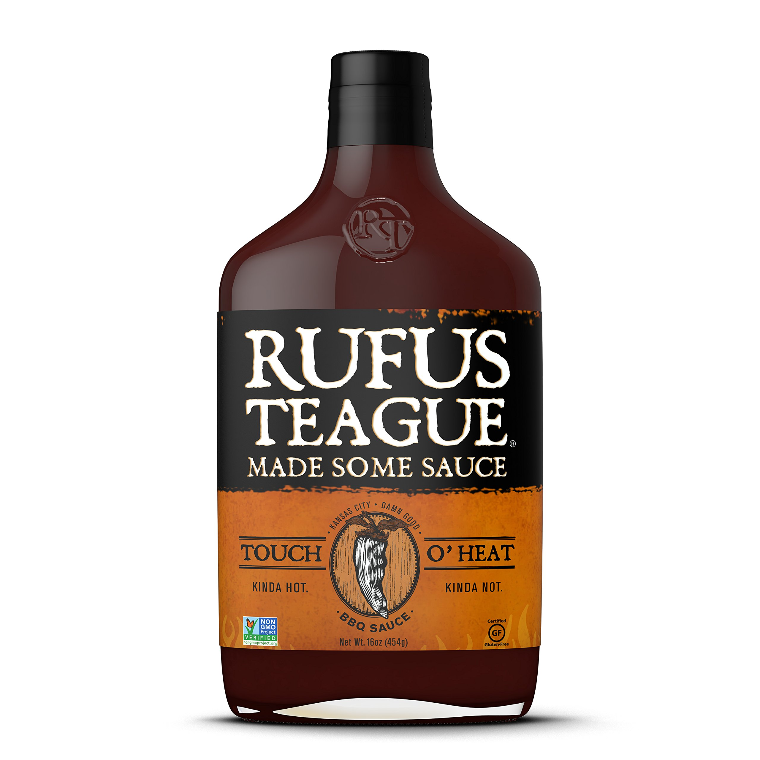Rufus Teague - Touch O' Heat BBQ Sauce 16oz