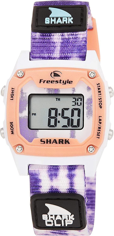 Freestyle Shark Mini Clip Tie-Dye Purple Burst Unisex Watch FS101019