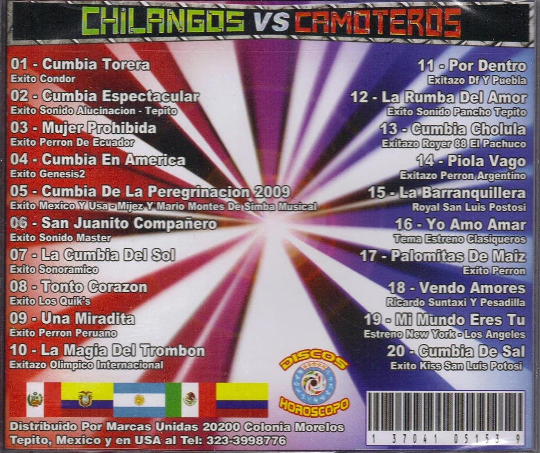 DISCOS HOROSCOPO - Chilangos Vs Camoteros, varios Artistas - Amazon.com Music