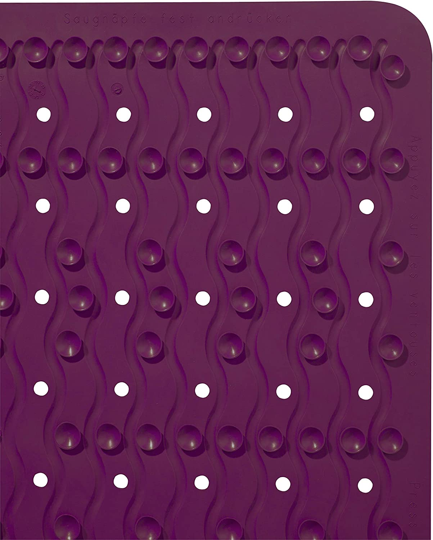 Ridder Playa 683030 38 x 80 cm Alfombrilla para ba/ñera Lilac Color Azul 38x80 cm