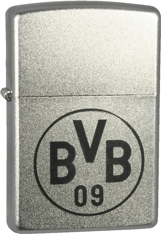 Zippo 27.1107 Feuerzeug BVB 09 Fussball Club Gravur, satin