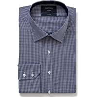 Van Heusen Men's Euro Fit Shirt Small Check, Classic