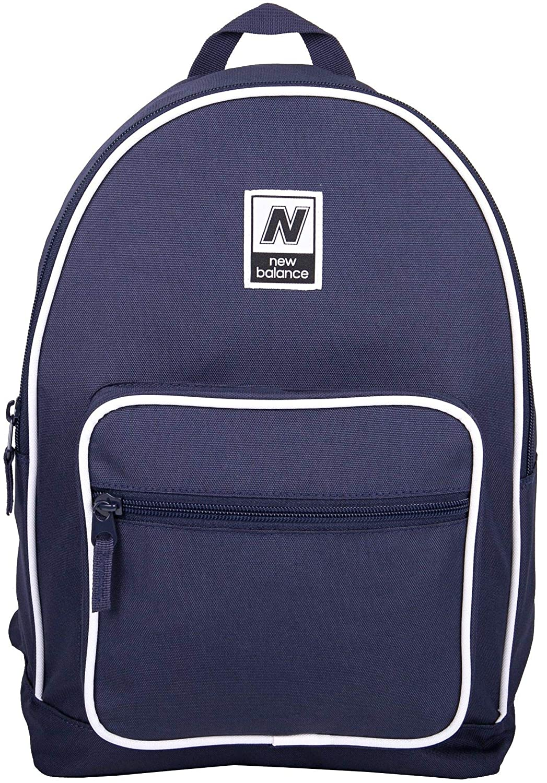 Ny balans män och kvinnor klassisk vadderad ryggsäck för skola, arbete eller gym bokväska BLÅ