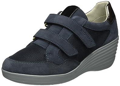 Romy, Sneakers Basses Femme, Bleu (Denim 124), 35 EUStonefly