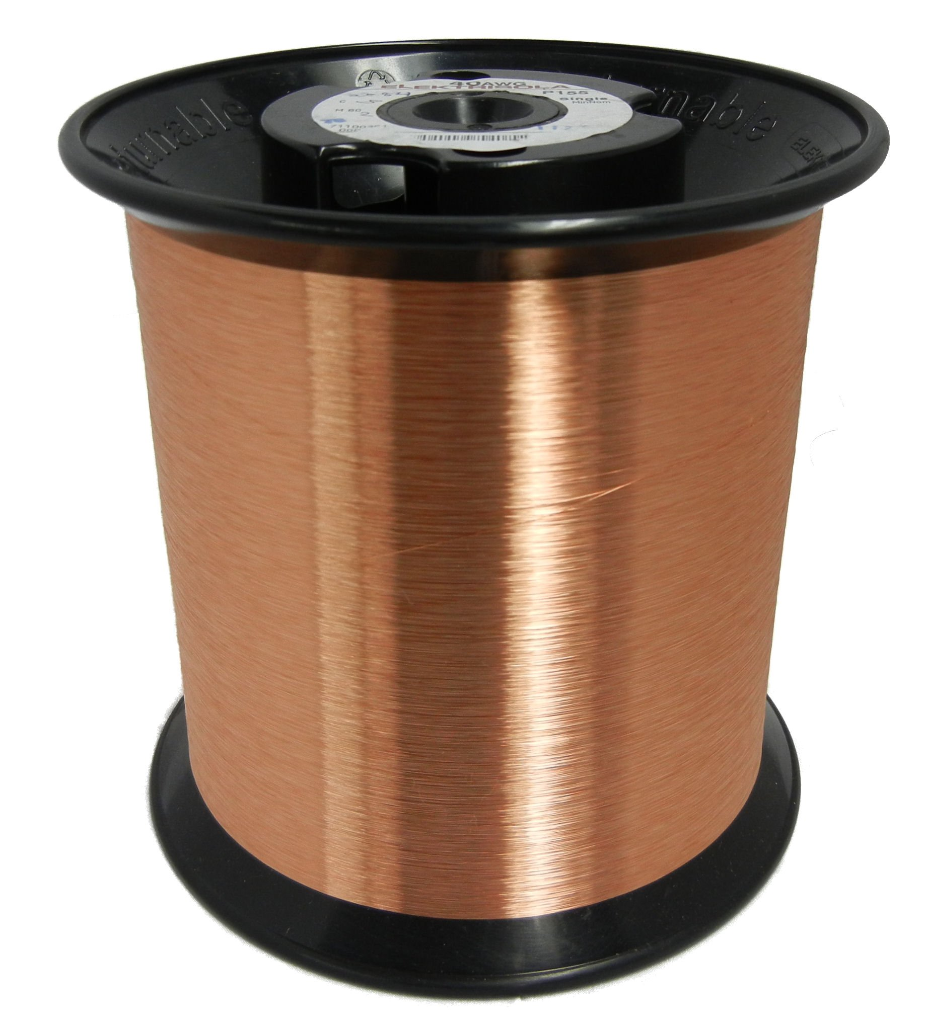 Remington Industries 42SNS 42 AWG Magnet Wire, Enameled Copper Wire, 5.0 lbs, 0.0026'' Diameter, 256565' Length, Natural