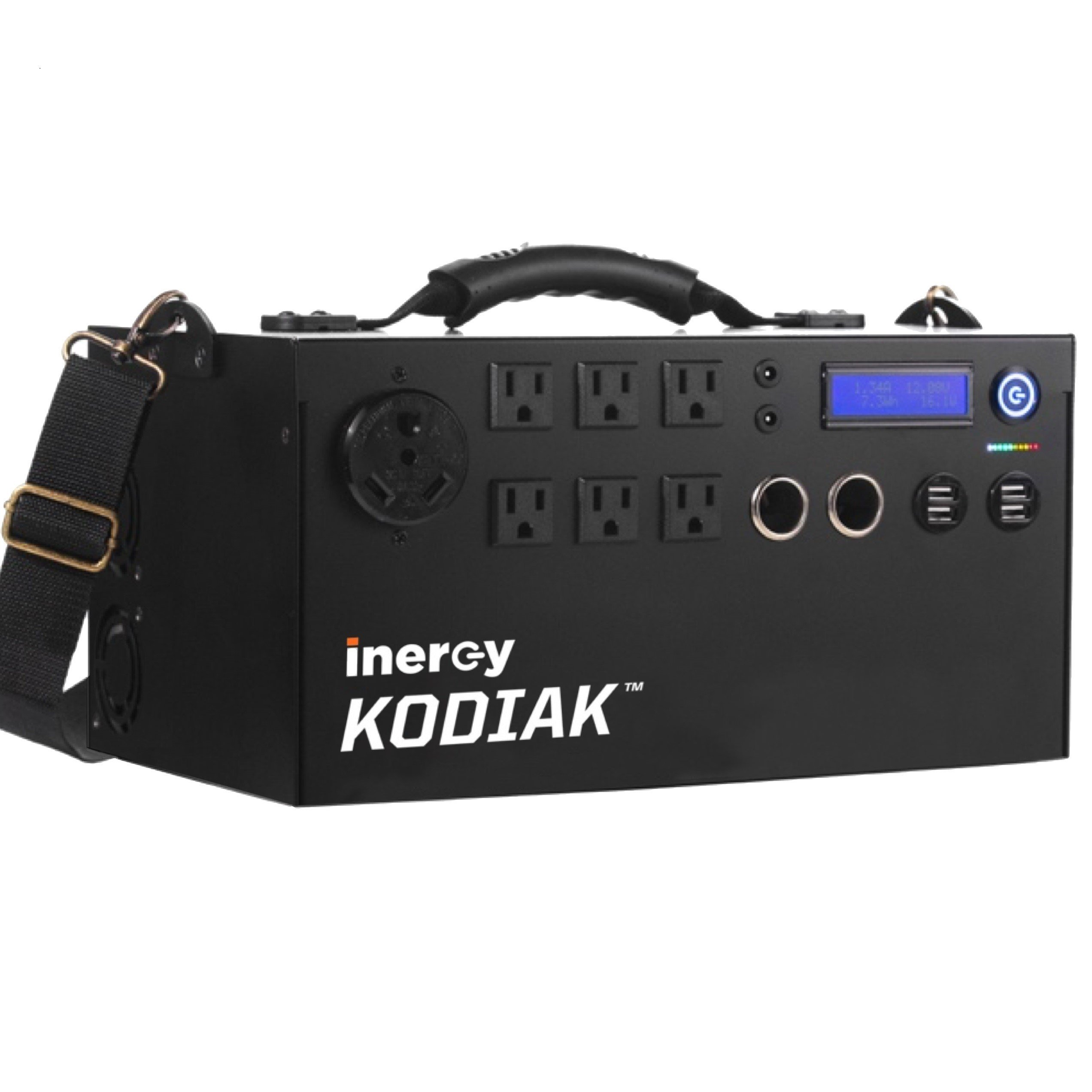 Inergy Kodiak 1100 Watt (1.1kWh) Power Bank Solar Generator - Basic Model - Lithium Ion Emergency & Camping Electric Battery Portable Power Source by Inergy