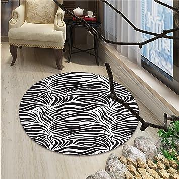 Amazon.com: Yoga redondo área alfombra tatuaje estilo mehndi ...