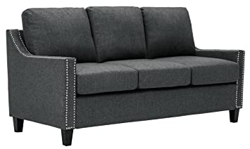 Superior Amazon.com: Homelegance Pagosa Sofa With Contour Arms And Nail Head Accent,  Grey: Kitchen U0026 Dining