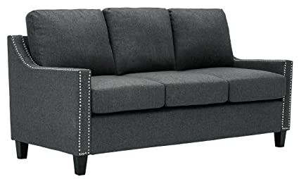 Nice Homelegance Pagosa Sofa With Contour Arms And Nail Head Accent, Grey