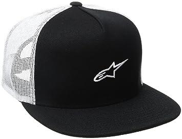 Alpinestars Cap Amigo Trucker Tiene, Hombre, Amigo Trucker Hat, Negro, OS: Alpinestars: Amazon.es: Deportes y aire libre