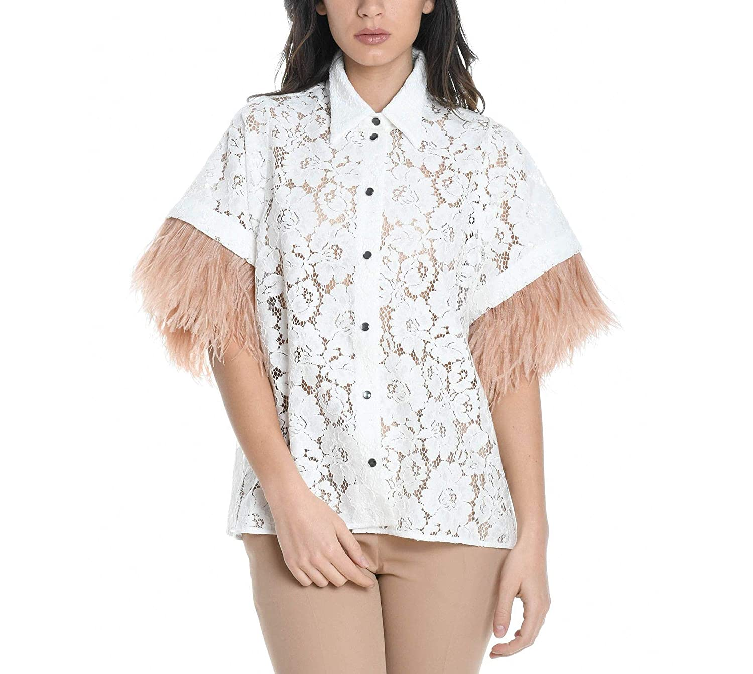 N°21 Women's G11249211102 White Cotton Shirt