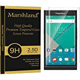 Marshland® BlackBerry Priv Tempered Glass Screen Protector 3D Curve Edges 0.33mm Thickness 9H Hardness Anti Explosion Crystal Clear Anti Scratch Bubble-Free Oleo phobic Coating (Transparent)