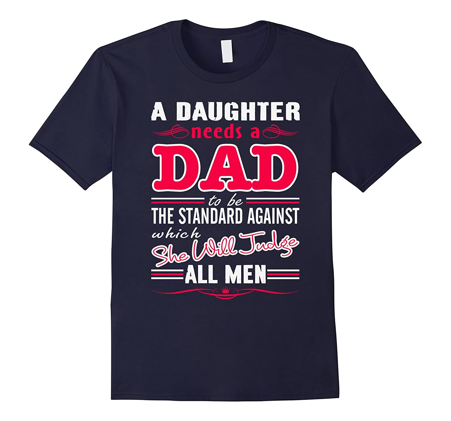 Fathers Day Gifts Frome Daughter Funny T-shirts est2017-Vaci