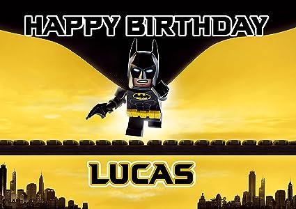 LEGO Batman de tarta de cumpleaños Decoración para tarta ...