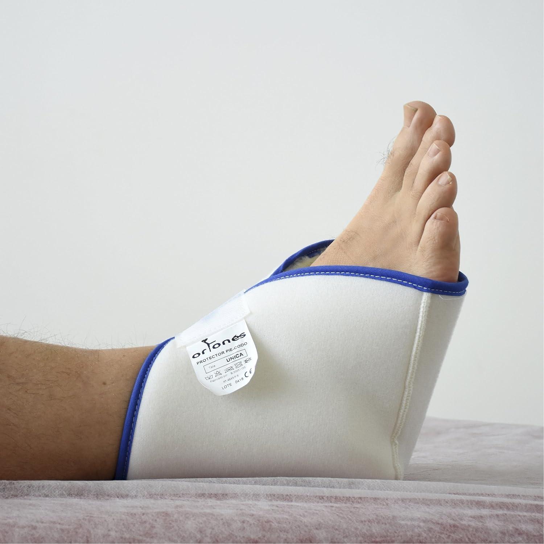 ORTONES | Par de Taloneras Patucos antiescaras protector de pie, talón o codo.
