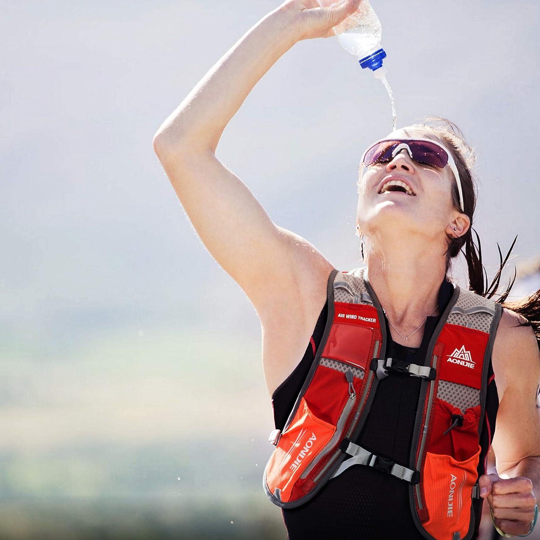 TRIWONDER Sac Trail 5L Sac /à Dos dHydratation Sac Running Gilet dHydratation Gilet Trail Veste L/éger pour Homme Femme Course /à Pied Randonn/ée