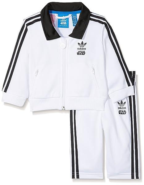 adidas Star Wars Stormtrooper Trainingsanzug Kleinkinder Kinder Anzüge & Bodies