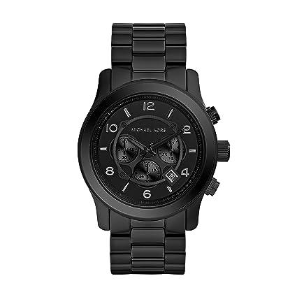 Reloj Con Kors Inoxidable Para Acero Mk8157 Analogico De En Hombre Michael Cuarzo Correa wk0OnP