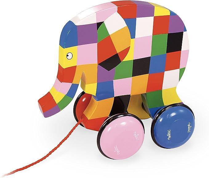 Vilac - Arrastre Elmer (5911): Amazon.es: Juguetes y juegos