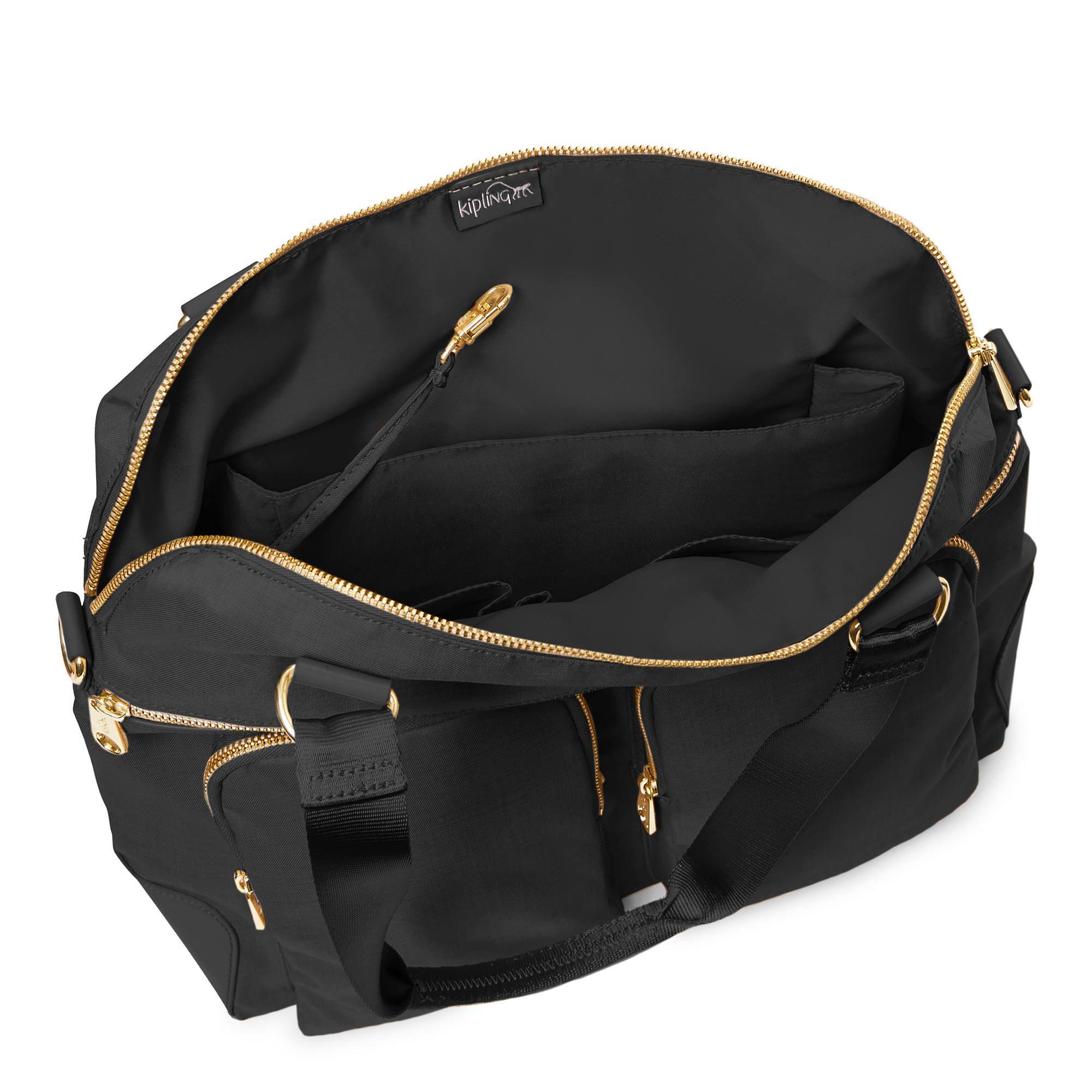 Kipling Camryn Laptop Handbag Black Crosshatch by Kipling (Image #3)