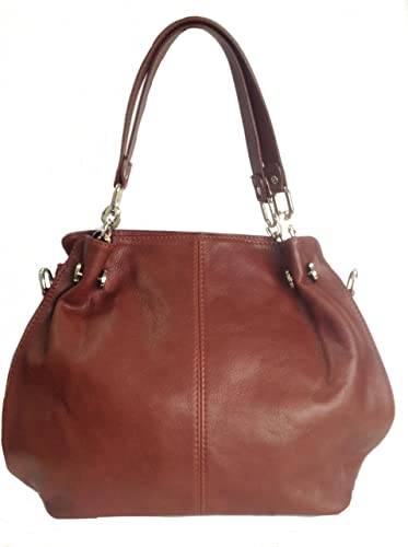 784a22cac7bb Beautiful Soft Brown Italian Leather Hobo Bag