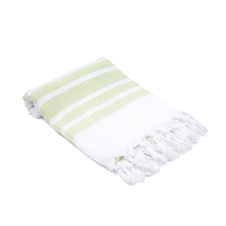 Olive&Linen Herringbone Turkish Hand/Kitchen Towel, Black Olive and Linen LLC HR-HT-BLACK