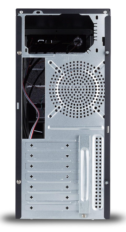 unexon Skull PC-ATX-Gehäuse Mesh-Design 3 x 120mm: Amazon.de ...