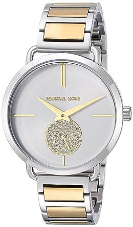 f35d0e0112bf Amazon.com  Michael Kors Women s Analog-Quartz Watch with Stainless ...