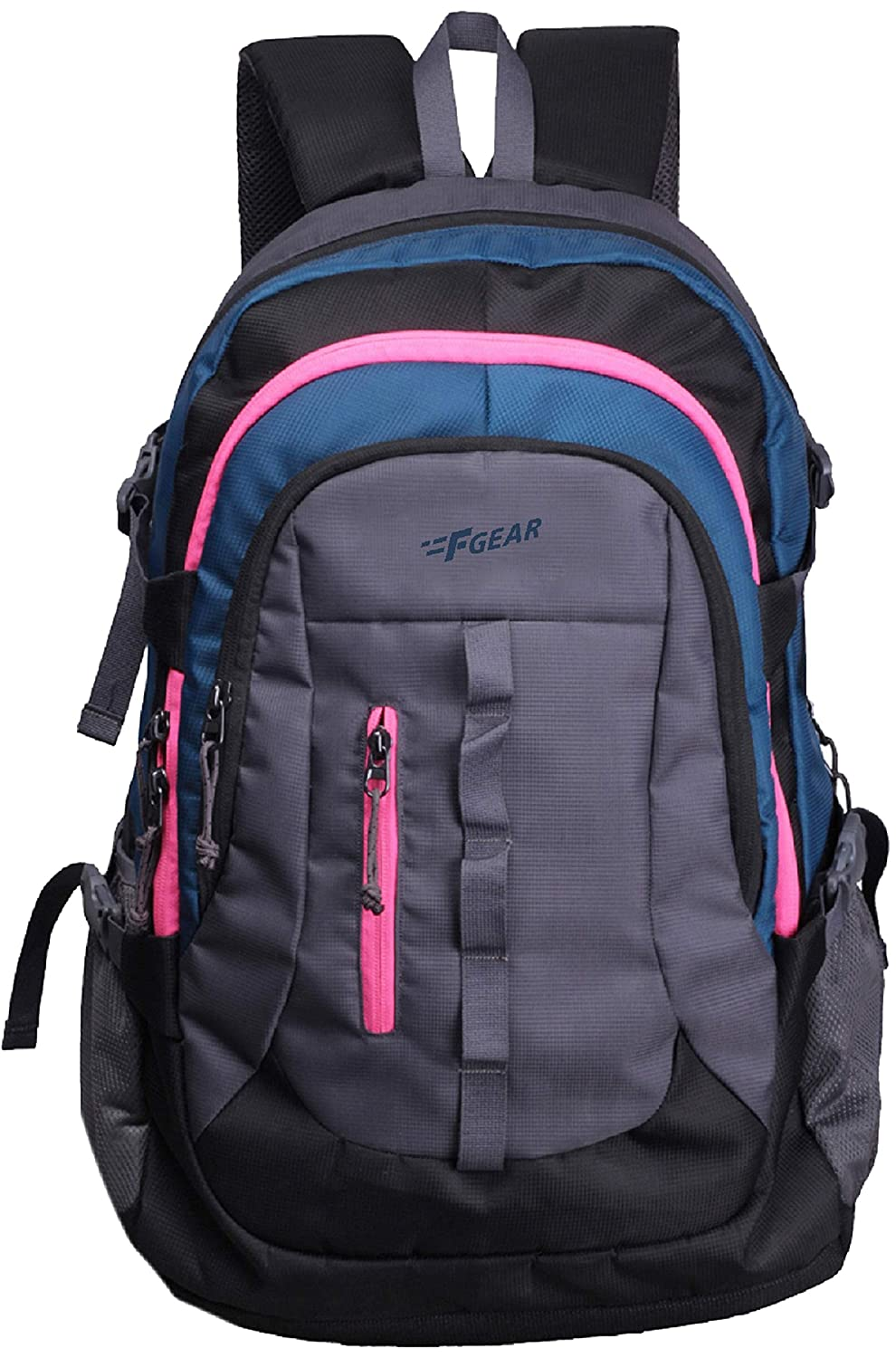 F Gear Defender 41 Ltrs Navy Blue, Pink Casual Backpack (2504)
