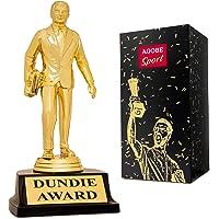 Dundie Award Trofeo para la Oficina Bobblehead – Mostrar Mejor Nivel Dundee Gag como Divertido Regalo Dunder Mifflin Memorabilia