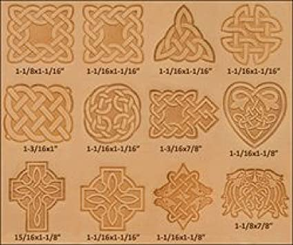 Round Celtic 3D Stamp 8537-00 by Tandy Leather Craftool