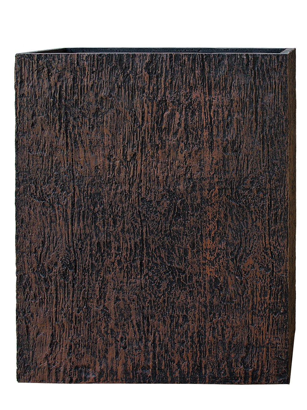 PFLANZWERK® Pflanzkübel DIVIDER Wood Brown 92x80x30cm *Frostbeständig* *UV-Schutz* *Qualitätsware*