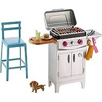 Barbie BBQ Grill Furniture & Accessory Set