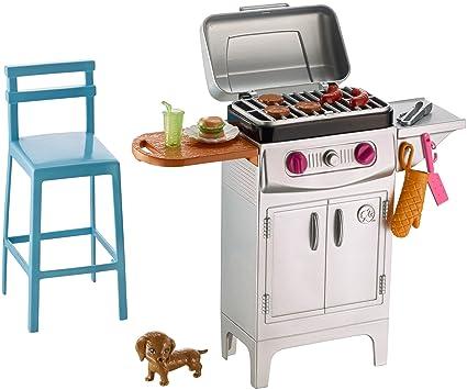 Barbie BBQ Grill Furniture U0026 Accessory Set