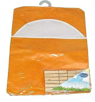 Amazon.com: Bolsa de Peg/Vinilo bolsa para pinzas con pinzas ...