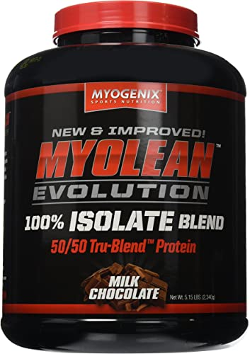 Myogenix Myolean Evolution Isolate Powder, Milk Chocolate, 5.14 Pound