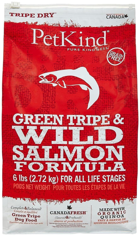 Pet Kind 6 lb Dry Formula Tripe/Wild Salmon Dog Food, One Size hot sale