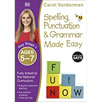 Spelling, Punctuation & Grammar Made Easy, Ages 5-7 (Key Stage 1): Supports the National Curriculum, English Exercise…