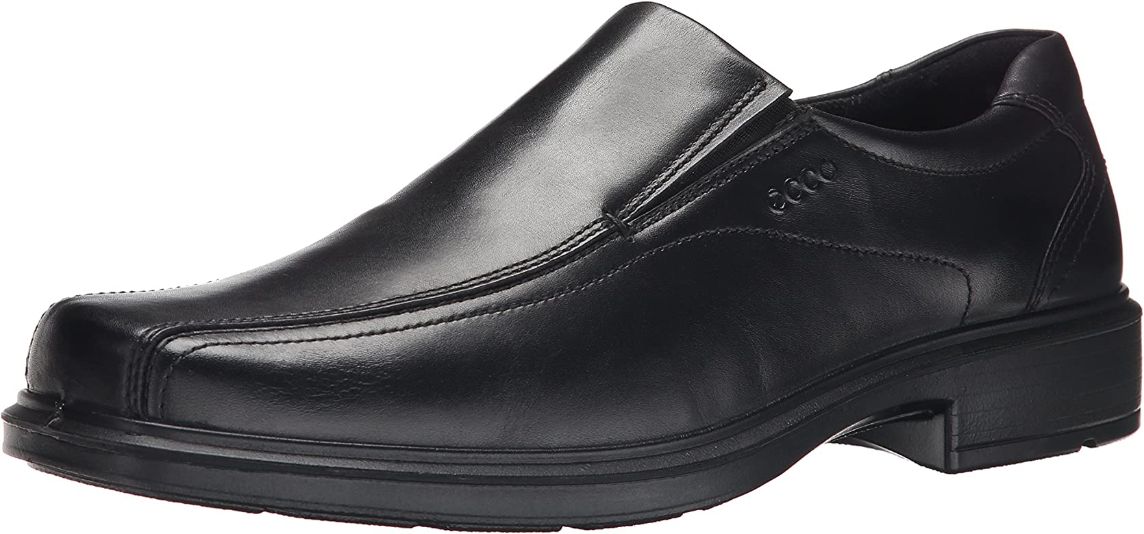 9b9bd653a1d77 Amazon.com | ECCO Men's Helsinki Slip-On, Black, 39 EU (US Men's 5 ...